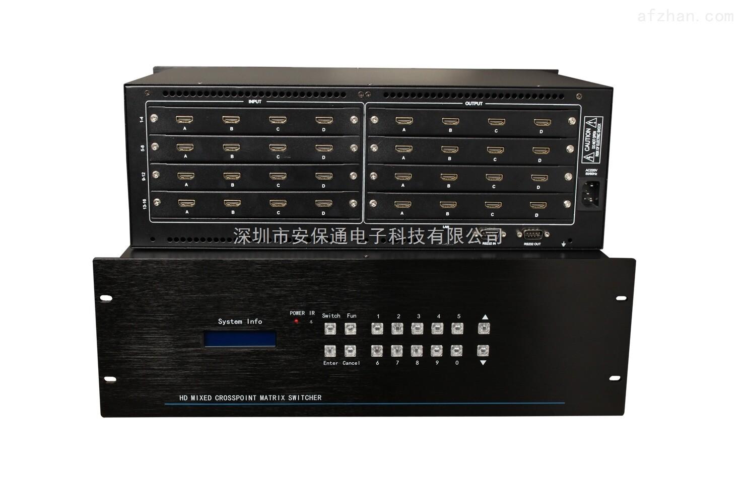 16进16出HDMI矩阵切换器