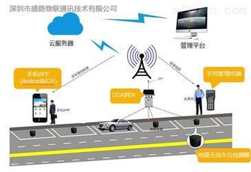 dda303ad dda智能停车场超声波车位探测器
