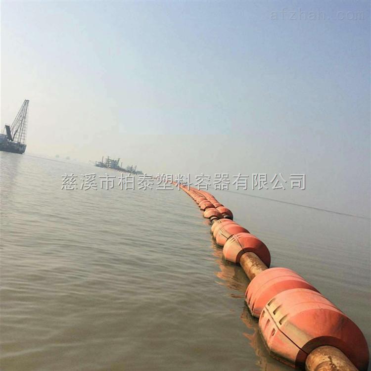 哈尔滨海上塑胶管道浮子 疏浚浮体厂家