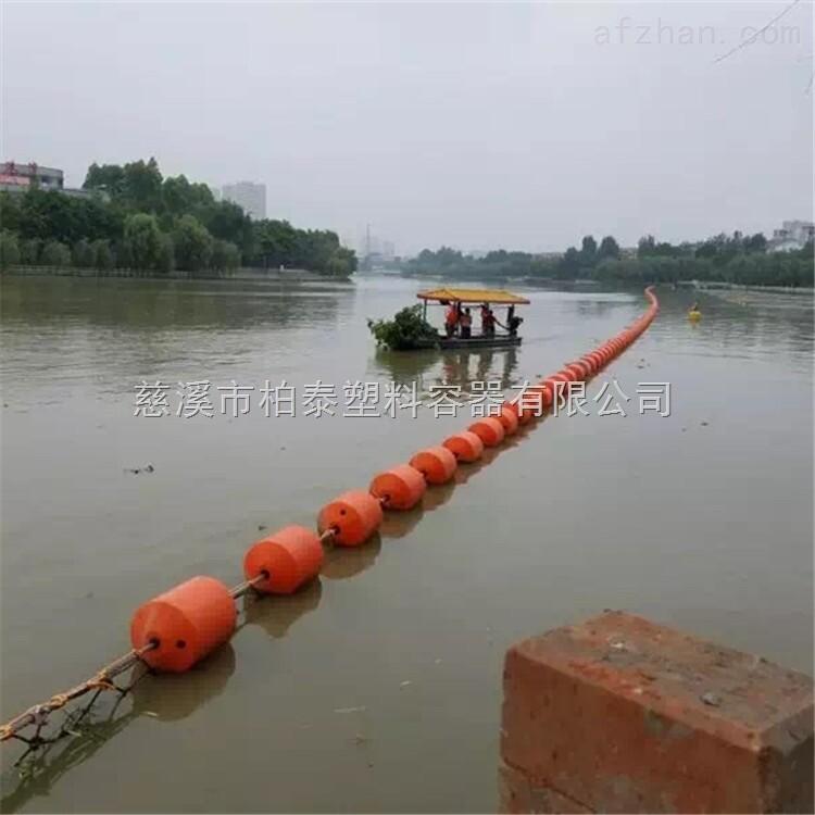 电站取水口拦污浮球组,水源地拦截浮筒