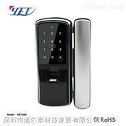 遥尔泰玻璃门智能指纹锁YET904自动智能报警