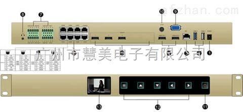 尼科NK-D12MTCS数字液晶触控导播台