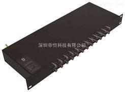 供应DIC网络视频信号防雷器(机架式)