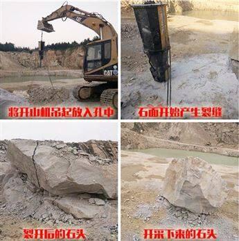 衡阳地基桩基基础开挖劈裂机新年价格