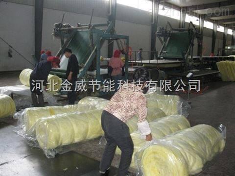 风管专用保温玻璃棉卷毡多少钱一米