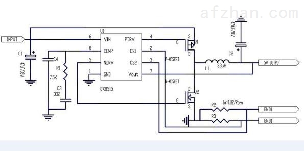 CX8515 4.8A车充IC解决方案