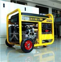 工地施工用5kw开架式汽油发电机