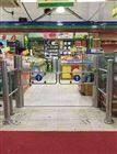 超市入口自动感应门 入口单向门禁 进出口门