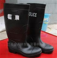 盛美特出勤勤务雨鞋厂价直销警务执勤雨靴