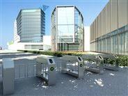 CPW1000防撞室外扫码摆闸厂家
