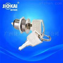 JK016环保多档位钥匙开关,3档电源锁