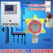 化工厂仓库盐酸泄漏报警器,可燃气体探测报警器与防爆轴流风机怎么连接