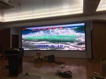 宴会厅电子屏安装过程