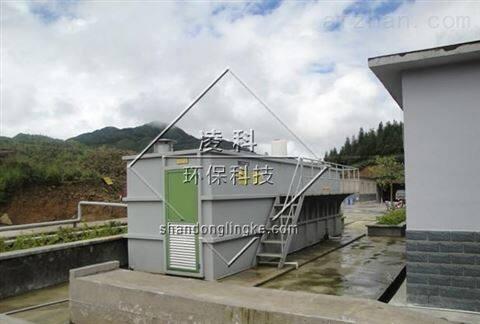 一体化生活污水处理设备效果