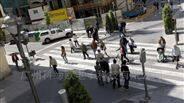 行人过街智能检测预警系统,智能预警摄像头