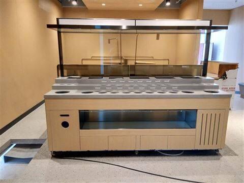 厂家直销沈阳铁岭海底捞样式多功能菜架