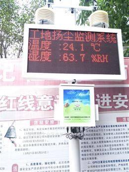 道路保洁工地扬尘在线监测系统耐高温