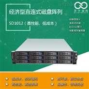 12盘位直连式SAS磁盘阵列SD1012