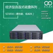 16盘位直连式SAS磁盘阵列SD1016