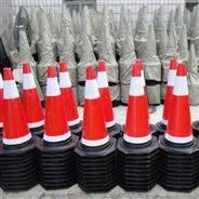 65結實耐用反光度強橡膠錐