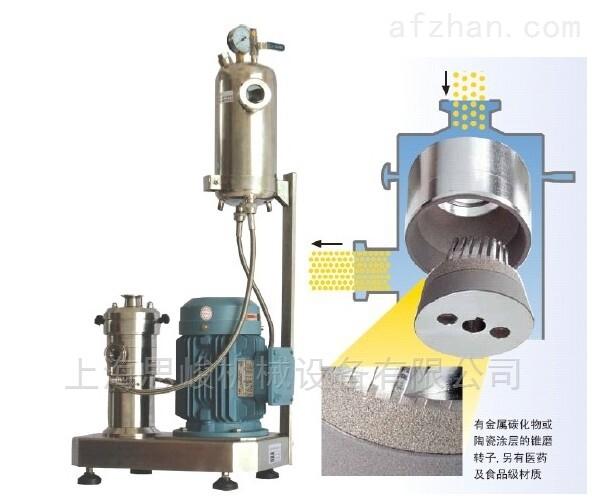 管线式二鹏化钛研磨分散机