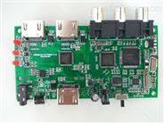 AV+HDMI TO HDMI 带遥控与按键切换