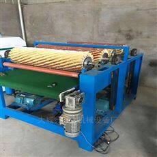 109榆木碳素板全自动台式木工拉丝抛光机
