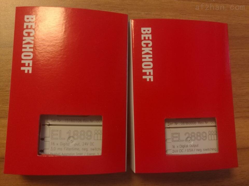 EL1889德国BECKHOFF进口模块