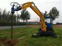 里德厂家改装各种类型挖掘机钻孔机 打桩机