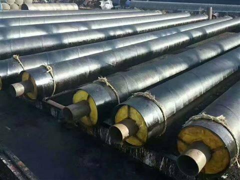 柳州复合聚氨酯钢套钢螺旋发泡保温管报价