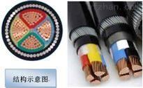 铠装铝芯电缆YJLV3*240+1*120-0.6/1KV
