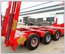 重型低平板机械运输车中国货运发展趋势