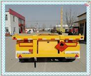 45英尺骨架集裝箱運輸車鴻盛業駿牌質量標準