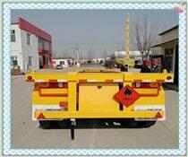 45英尺骨架集装箱运输车鸿盛业骏牌质量标准