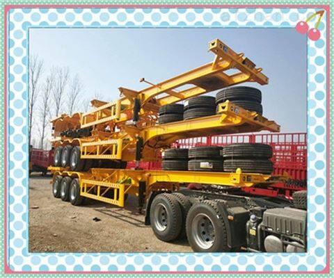骨架集装箱半挂车制造厂解读危险品运输防护