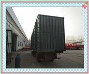 平板式集装箱运输车型号齐全样式多样出厂价