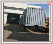 轻量化集装箱运输车出口报价及出口质量口碑