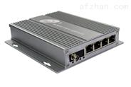 工业级4路百兆POE光纤收发器