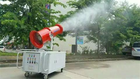在线式扬尘联动雾炮喷淋实时监测系统