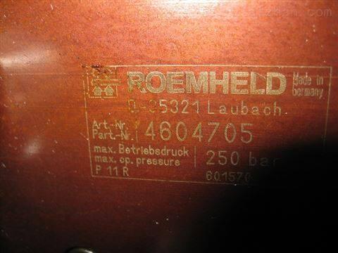 ROEMHELD夹紧油缸 限时特价原装进口 047