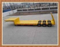 业骏高低高低平板半挂车规定价格标准尺寸