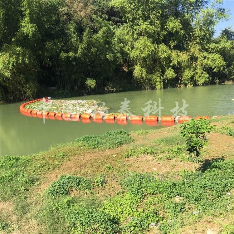 延安水源地漂浮垃圾拦截浮筒