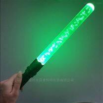 绿色带气泡可充电指挥棒