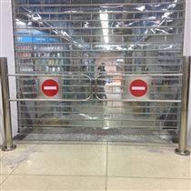 超市机械式单向门安装