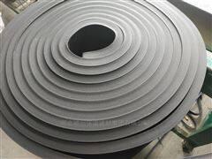 25mm厚防火布贴面黑色橡塑板