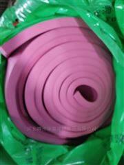 阻燃型粉色带胶橡塑板价格
