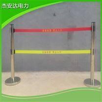 伸缩警示围栏伸缩不锈钢5米安全警示带护栏