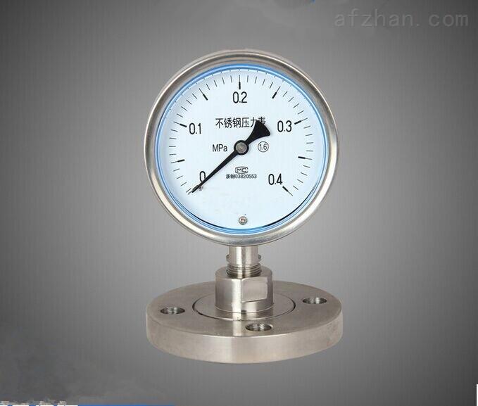 江西法兰隔膜压力表