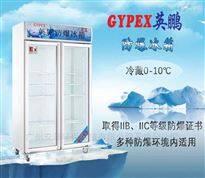 BL-900L双门防爆冰箱(无霜风冷)