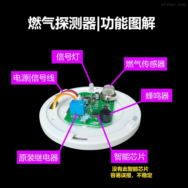 吸顶式燃气探测报警器